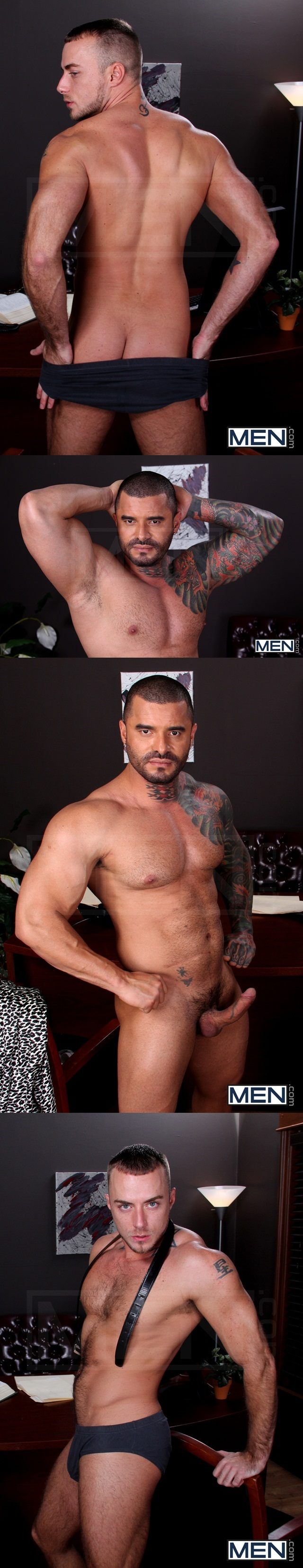 Tattoed muscle hunk Alexsander Freitas rims then fucks Jessie Colter tight butt hole mencom 1 Download Full Gay Porn Gallery here