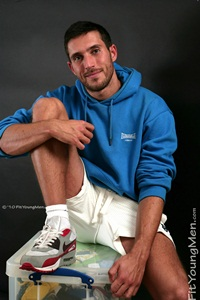 fit young men hairy faced Dan Paris Personal Trainer 26yo Straight gay athletes Download Full Stud Gay Porn Movies Here