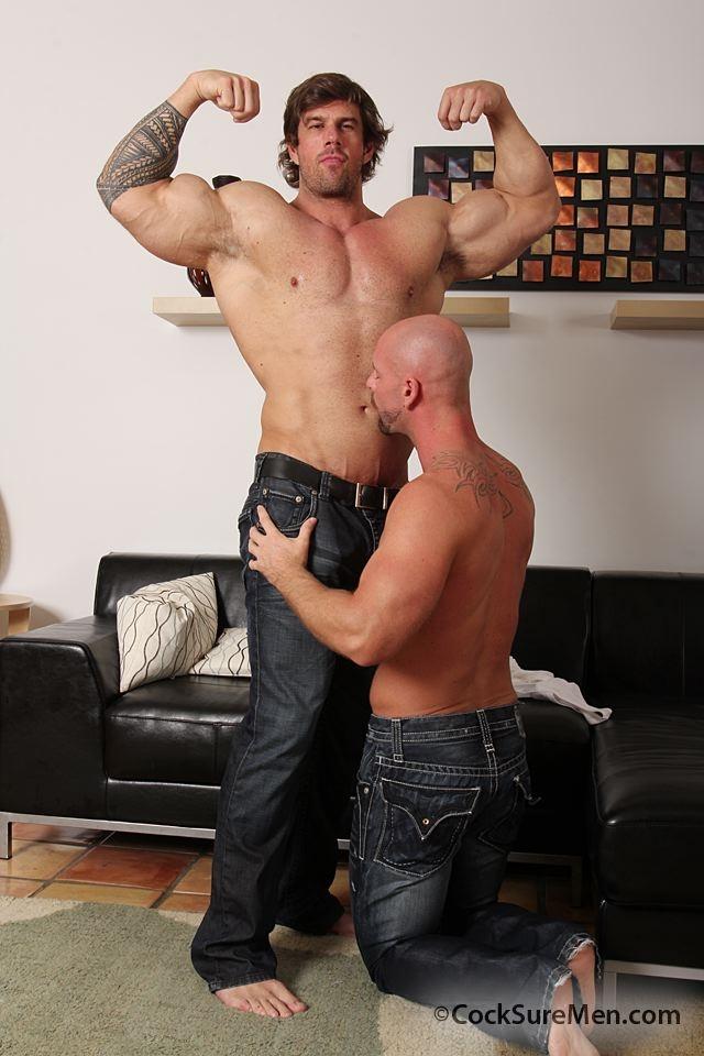 big dick bodybuilder
