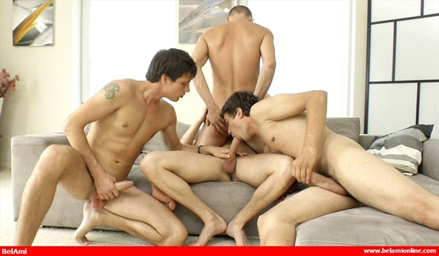 Three-cocks-into-one-asshole-Marcel-Gassion-Alec-Rothko-Marco-Bill-Paul-Valery-Condom-Free-06-photo