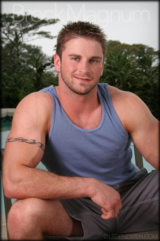 muscle men 2 legend men  Brock Magnum