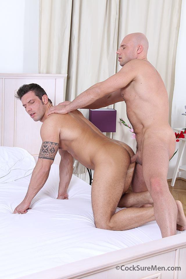 cocksuremen  Marek Tanker and Bruce Ford