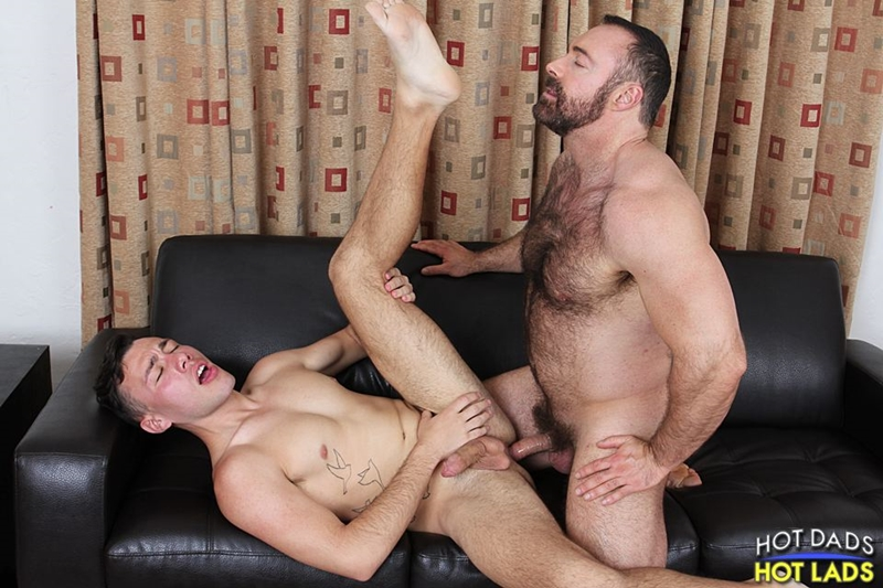 hot dads hot lads  Brad Kalvo and Blake Stone
