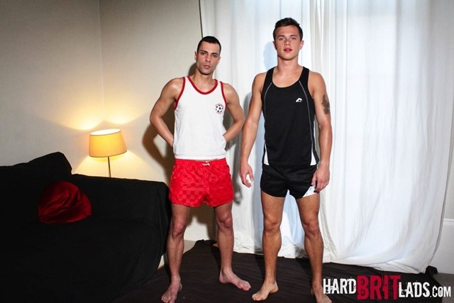 hard brit lads  Ryan Young and Anthony Cruz