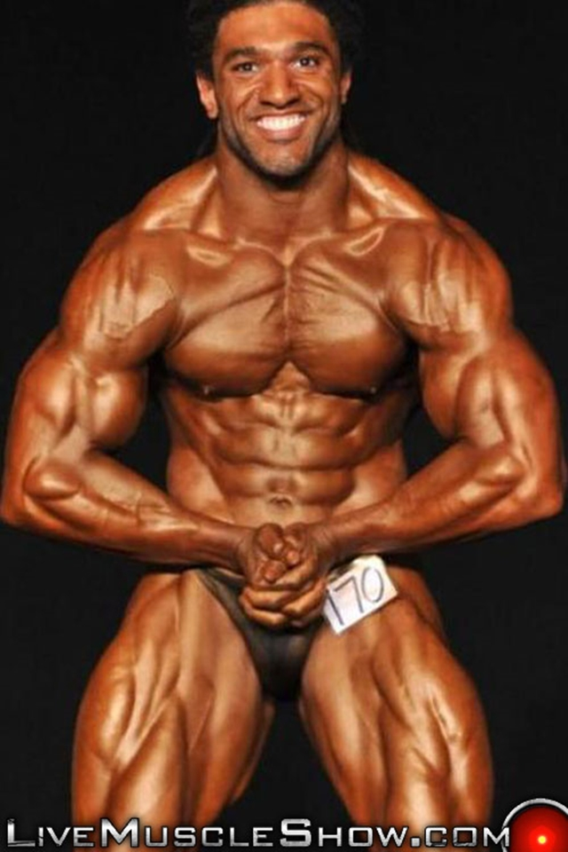 live muscle show  Brice King