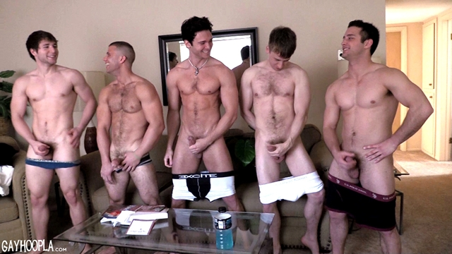 gayhoopla  Jaden Storm and Cole Money Five Way