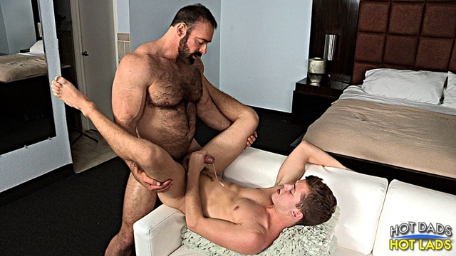 hot dads hot lads  Brad Kalvo and Ian Levine