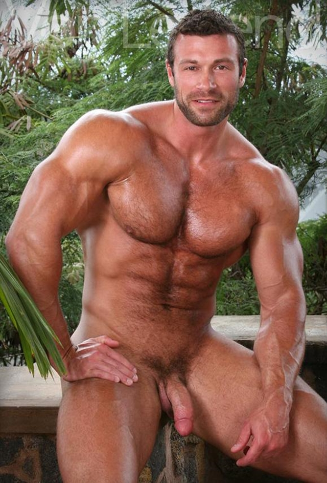 muscle men 2 legend men Von Legend aka Matt Davis