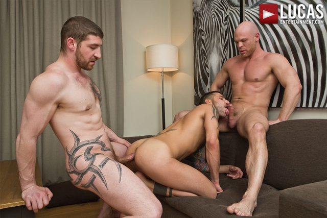 lucas entertainment  Jonathan Agassi and Jeff Stronger and Marco Milan