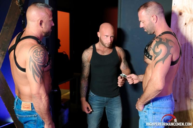 high performance men  Drake Jaden, Vic Rocco and Jon Galt