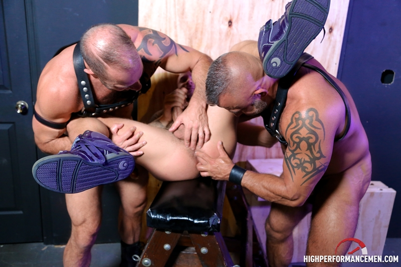high performance men  Drake Jaden, Vic Rocco and Jon Galt