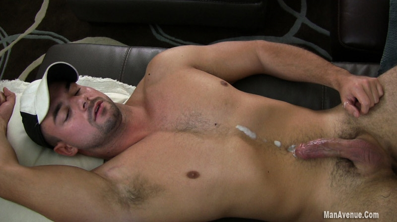 Filthy Mature Guy Beating Off