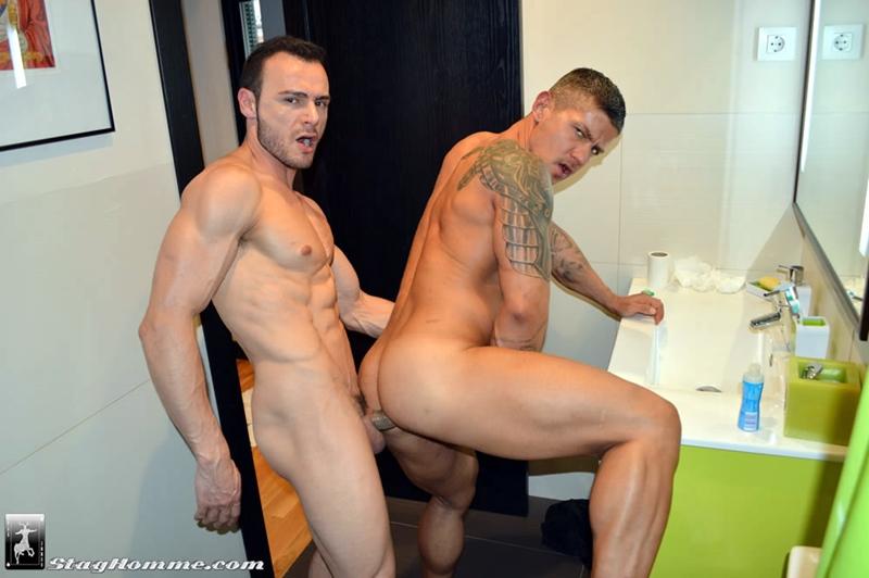 stag homme  Gabriel Vanderloo and Goran