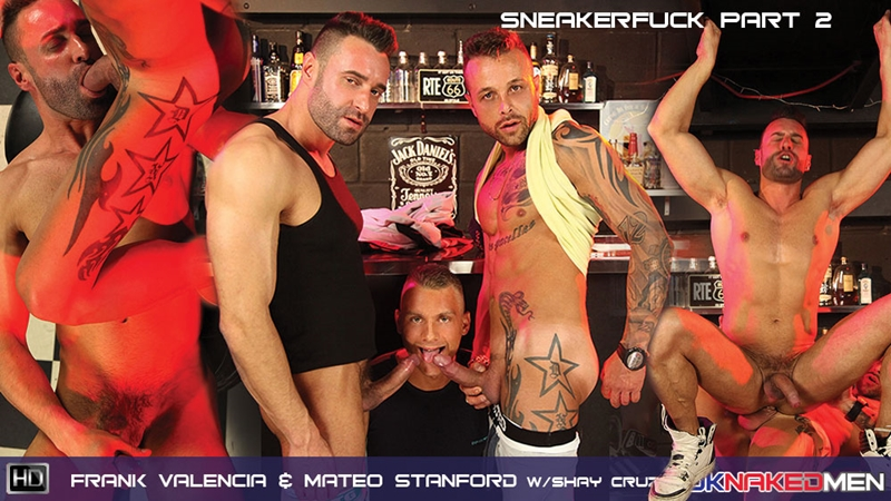 uk naked men  Frank Valencia and Mateo Stanford