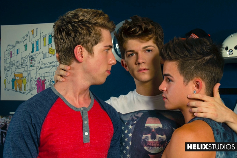 helix  Lukas Grande, Jack Rayder and Andy Taylor