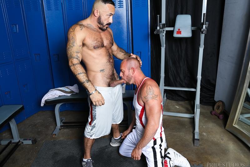high performance men  Alessio Romero and Matt Stevens
