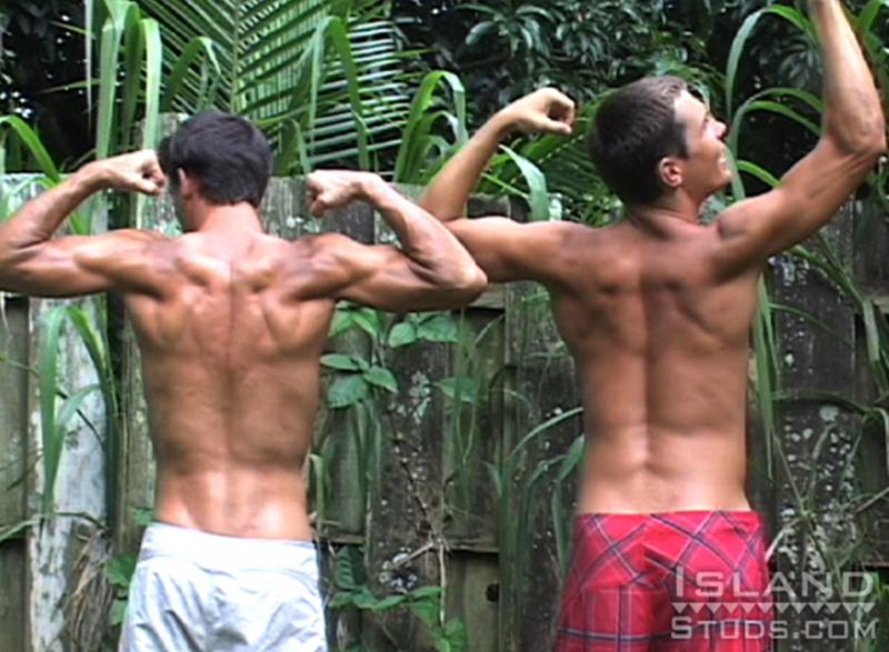 island studs  Brian and Darren