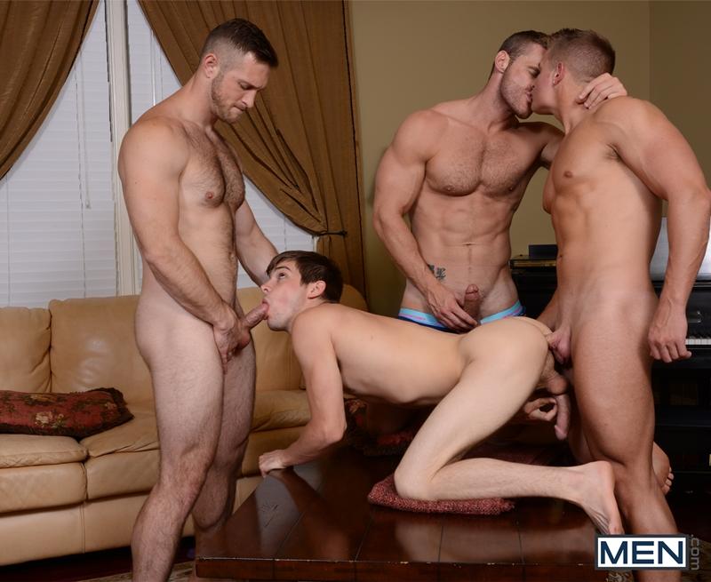 men  Johnny Rapid, Landon Conrad, Logan Vaughn and Paul Wagner