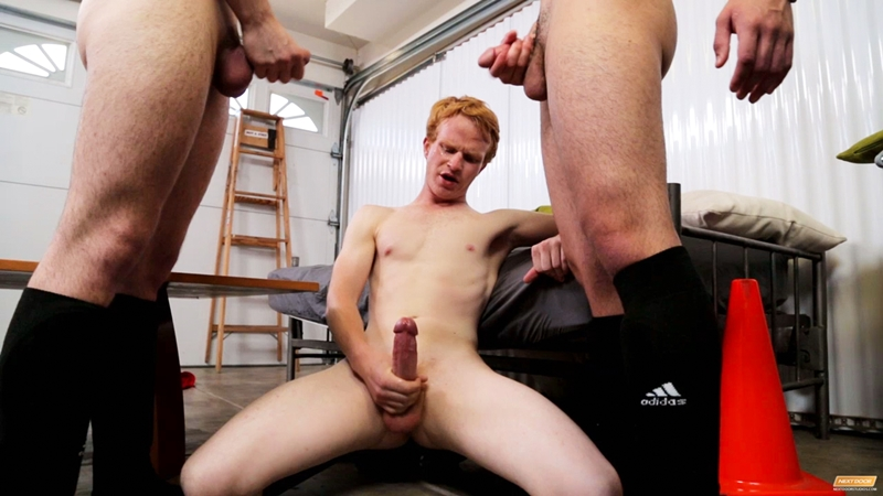 next door twink  Jacob A, Caleb Reece and Colby Klein