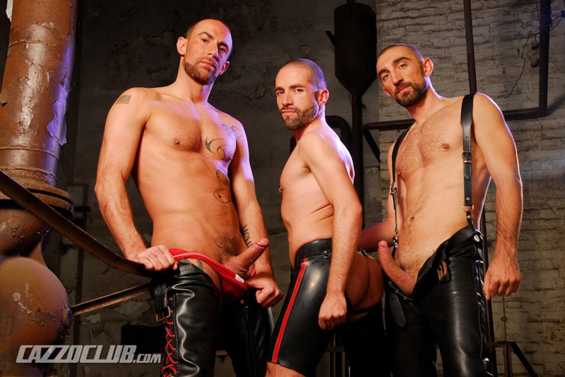cazzo club Matthieu Paris, David Castan and Nicolas Torri