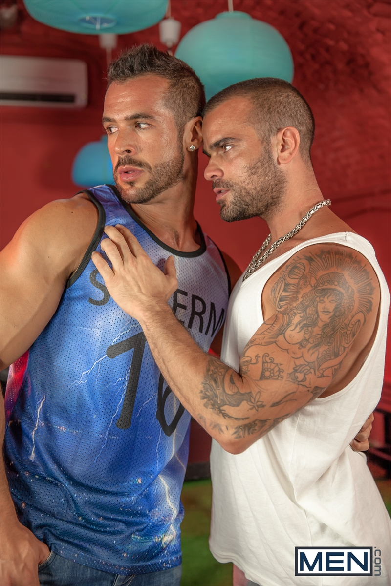 men  Men com Ibiza hottest hookup fit studs Damien Crosse Denis Vega tops horny ass hole big dick fucking rimming 005 tube download torrent gallery sexpics photo Damien Crosse and Denis Vega