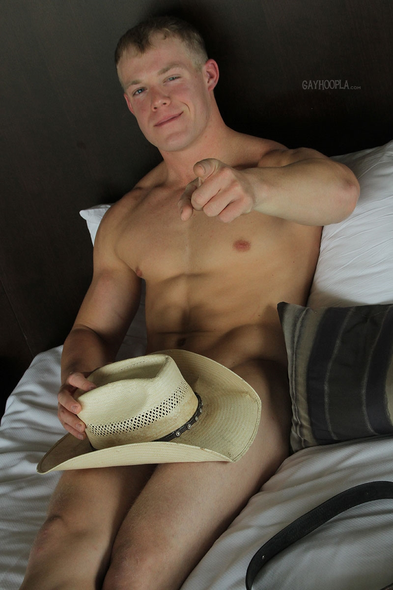 gayhoopla  GayHoopla Colt McClaire cowboy huge dick jeans crotch bulge orgasm cum solo jerk off smooth chest bubble butt 014 tube video gay porn gallery sexpics photo Gay Cowboy Colt McClaire