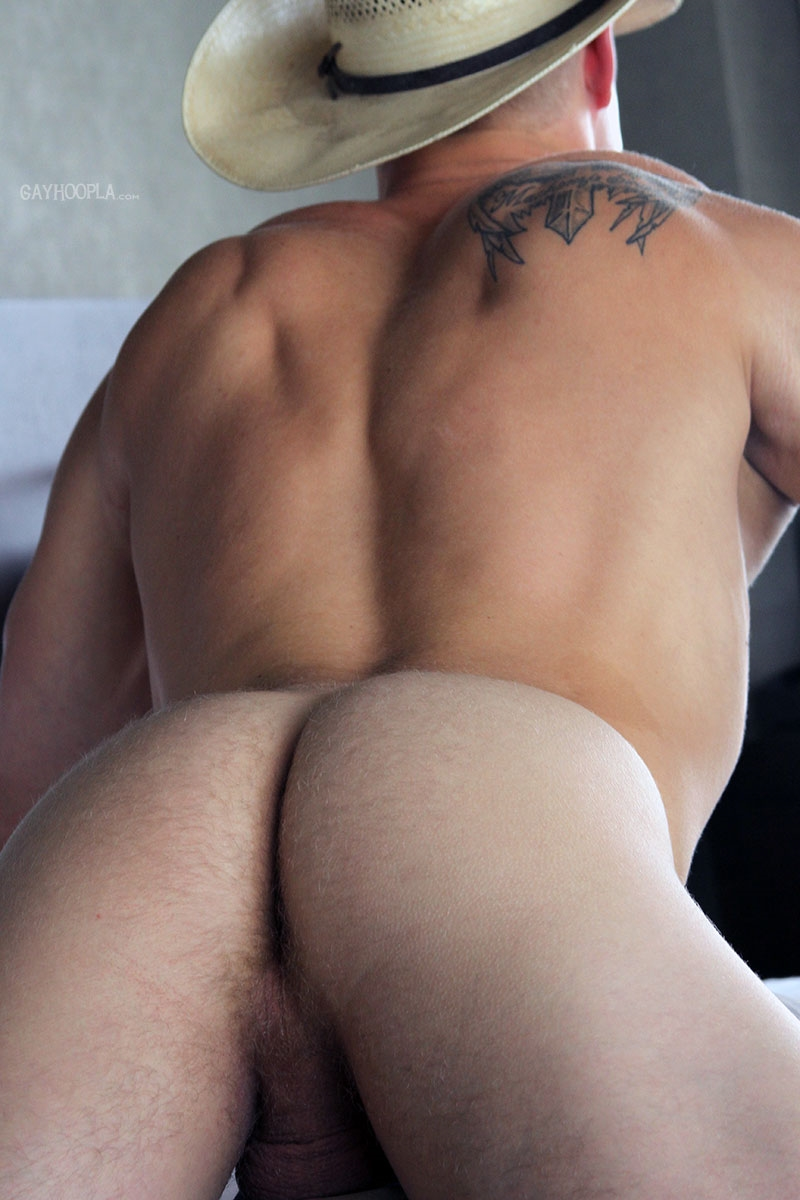 gayhoopla  GayHoopla Colt McClaire cowboy huge dick jeans crotch bulge orgasm cum solo jerk off smooth chest bubble butt 017 tube video gay porn gallery sexpics photo Gay Cowboy Colt McClaire