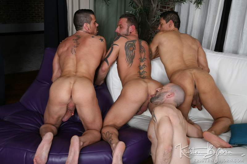 kristen bjorn  KristenBjorn Antonio Miracle Mario Domenech John Rodriguez Rainer huge dick anal rimming ass hole bare cock fuck 002 tube video gay porn gallery sexpics photo Antonio Miracle, Mario Domenech, John Rodriguez and Rainer
