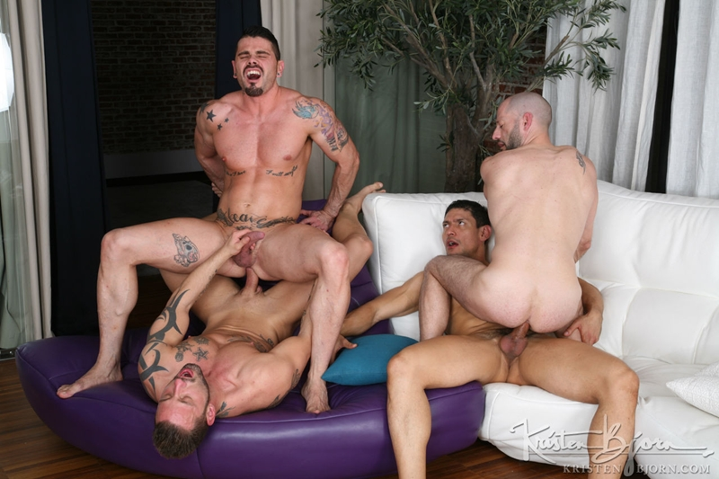 kristen bjorn  KristenBjorn Antonio Miracle Mario Domenech John Rodriguez Rainer huge dick anal rimming ass hole bare cock fuck 010 tube video gay porn gallery sexpics photo Antonio Miracle, Mario Domenech, John Rodriguez and Rainer