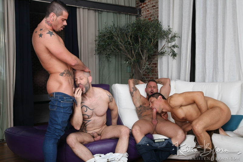 kristen bjorn  KristenBjorn Antonio Miracle Mario Domenech John Rodriguez Rainer huge dick anal rimming ass hole bare cock fuck 012 tube video gay porn gallery sexpics photo Antonio Miracle, Mario Domenech, John Rodriguez and Rainer