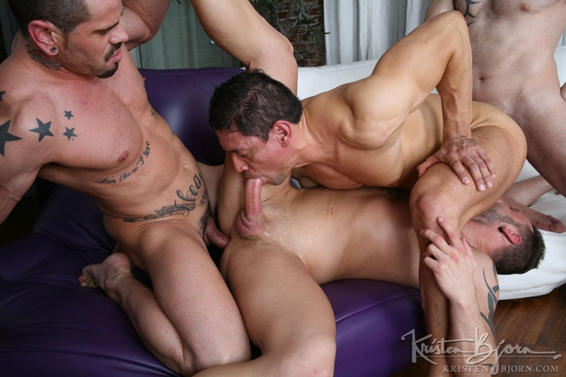 kristen bjorn  KristenBjorn Antonio Miracle Mario Domenech John Rodriguez Rainer huge dick anal rimming ass hole bare cock fuck 014 tube video gay porn gallery sexpics photo Antonio Miracle, Mario Domenech, John Rodriguez and Rainer