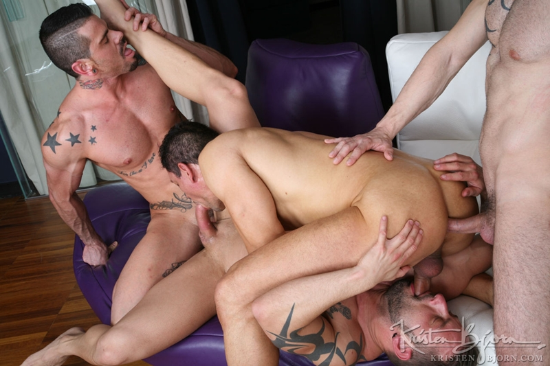 kristen bjorn  KristenBjorn Antonio Miracle Mario Domenech John Rodriguez Rainer huge dick anal rimming ass hole bare cock fuck 017 tube video gay porn gallery sexpics photo Antonio Miracle, Mario Domenech, John Rodriguez and Rainer