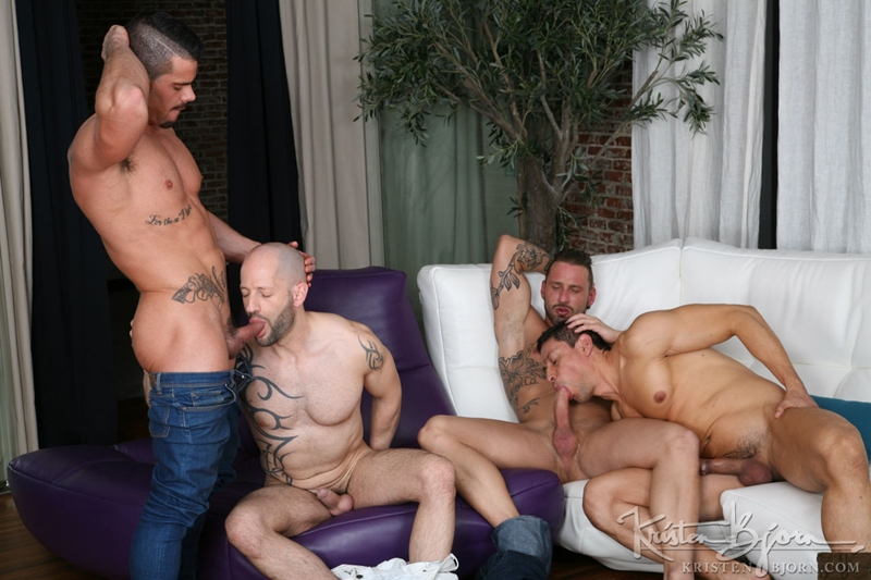 kristen bjorn  KristenBjorn Antonio Miracle Mario Domenech John Rodriguez Rainer huge dick anal rimming ass hole bare cock fuck 018 tube video gay porn gallery sexpics photo Antonio Miracle, Mario Domenech, John Rodriguez and Rainer