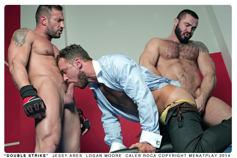 Logan Moore, Jessy Ares and Caleb Roca