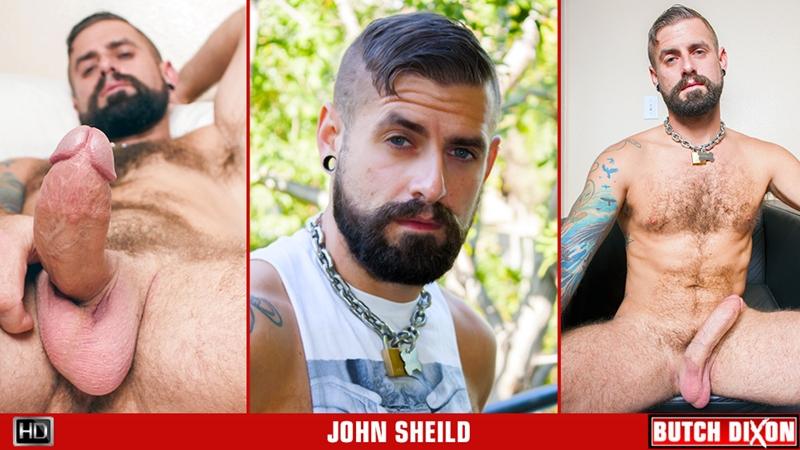 John Shield solo jerk off