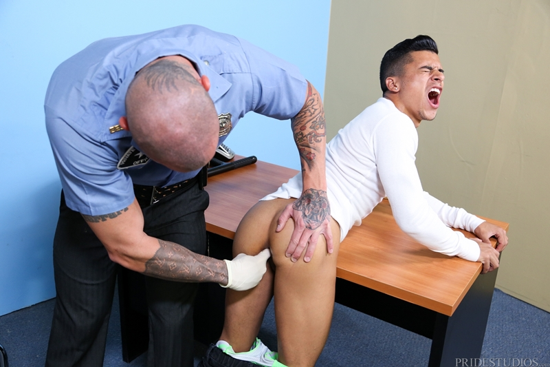 high performance men  Sean Durans fat cock fucks Armond Rizzo tight asshole