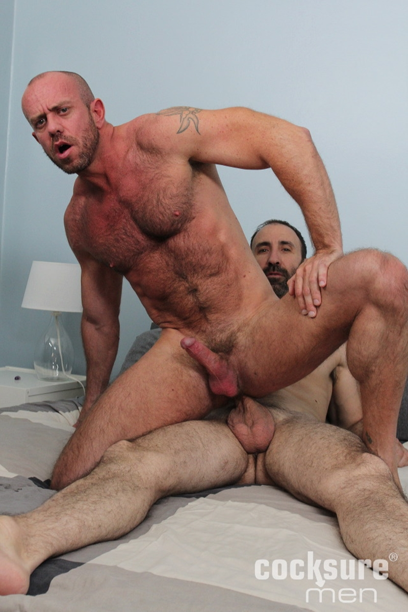 Raw Cock In Tight Hairy Ass