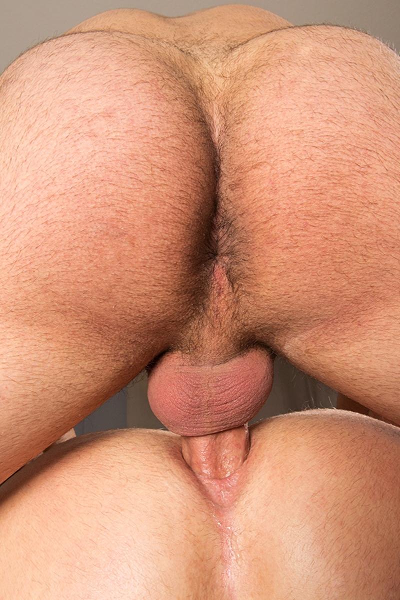 Gay anal fucking sex bareback action