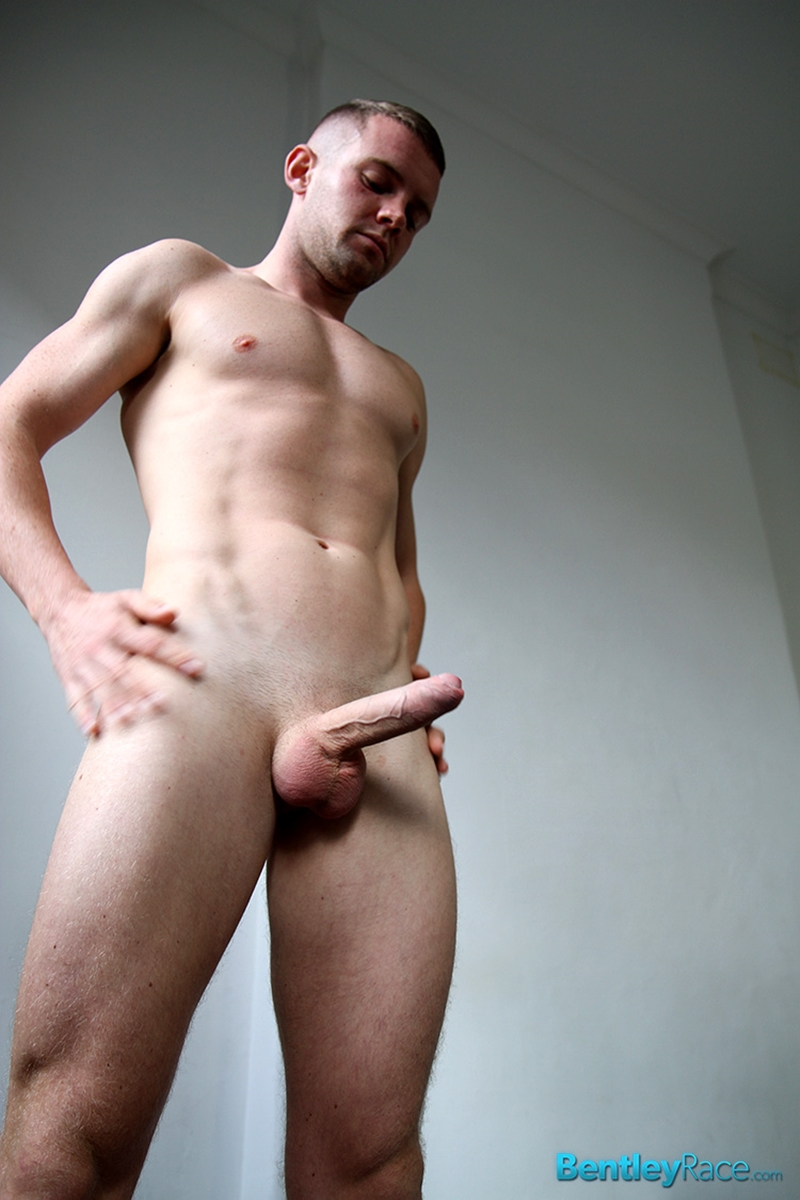 Sexy Stud Danny Johnston Strips Down And Shows Off His Huge