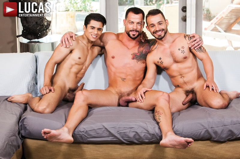 Young lads Rafael Lord and Armond Rizzo taught to breed raw by Sean Duran