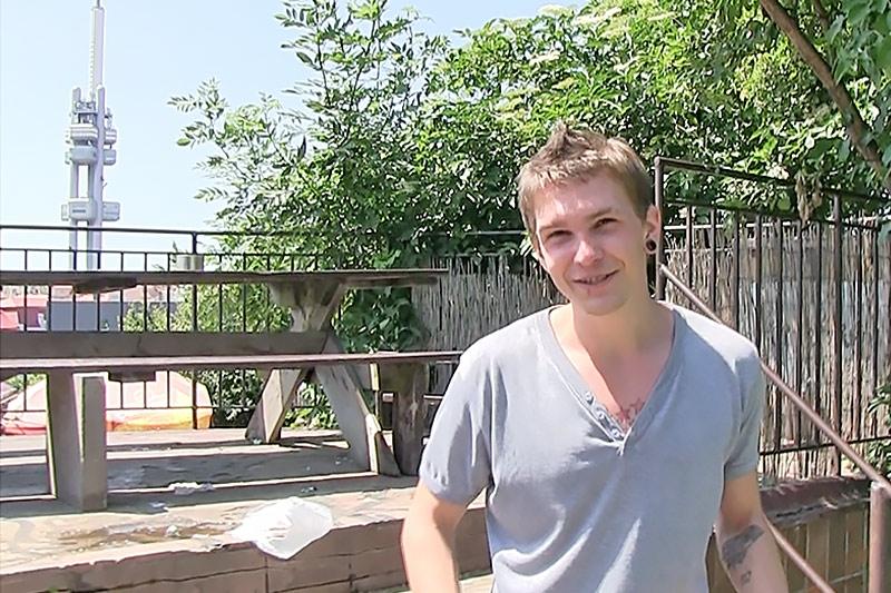 Czech Hunter 202 young straight sexy Czech dude first time ass fucking