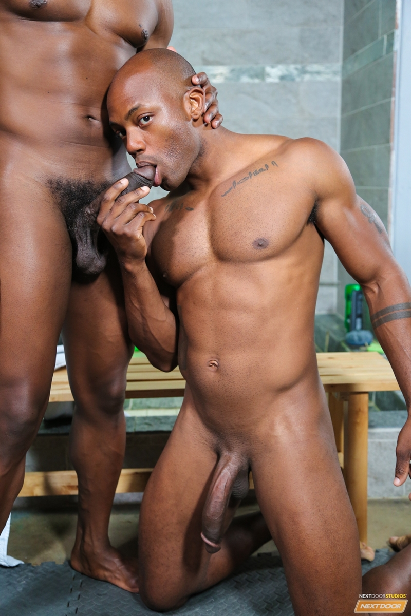 Krave Moore And Osiris Blade Rub Their Throbbing Big Black -9224