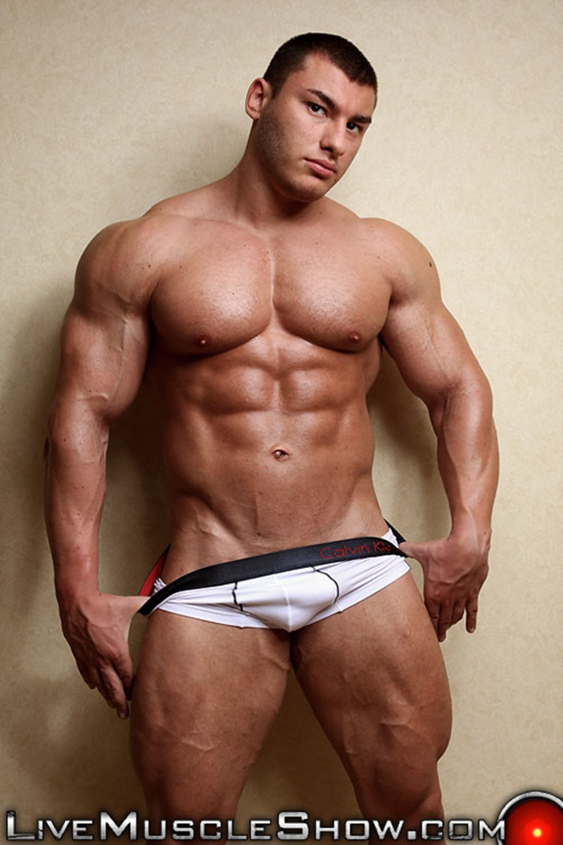 big hot muscle men