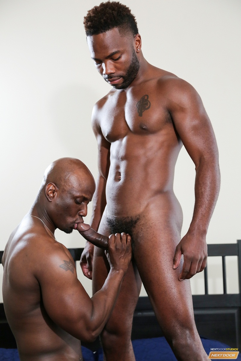 black dick naked sucking gay male