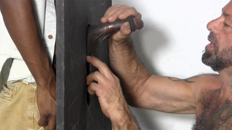Gloryhole dick sucker trucker men