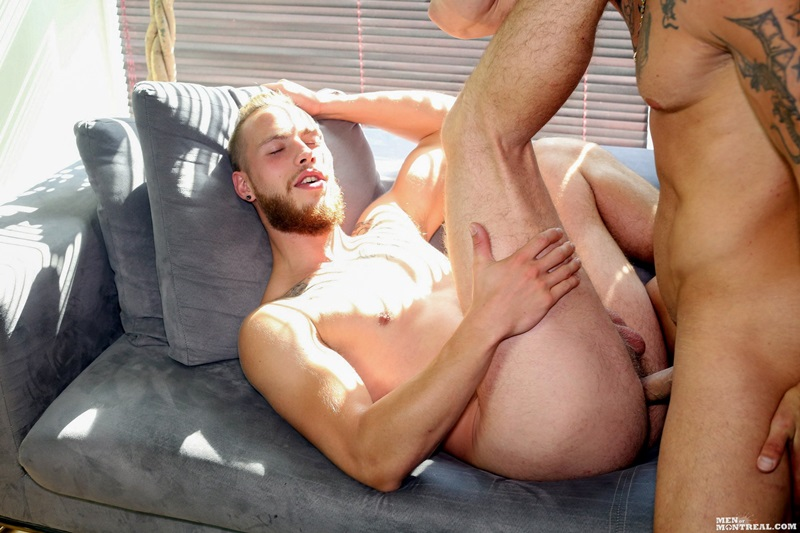 MenofMontreal-nude-men-Kyle-Champagne-Derek-Thibeau-missionary-top-man-dildo-tattooed-dude-bottom-boy-ass-fuck-fat-9-inch-dick-wad-cum-09-gay-porn-star-sex-video-gallery-photo