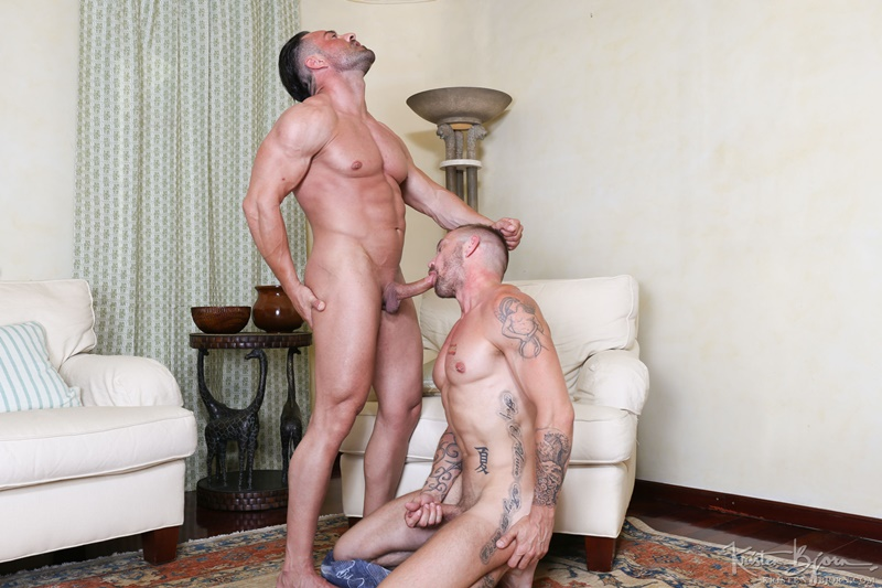 Alex Brando and Stephan Raw bareback ass fucking