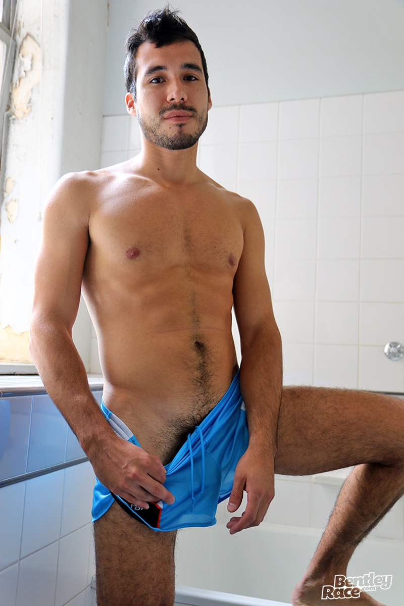 BentleyRace-sexy-naked-young-dude-Benjamin-Bosco-hairy-stomach-flat-ripped-tanned-huge-thick-uncut-cock-jerking-solo-cumshot-012-gay-porn-sex-gallery-pics-video-photo