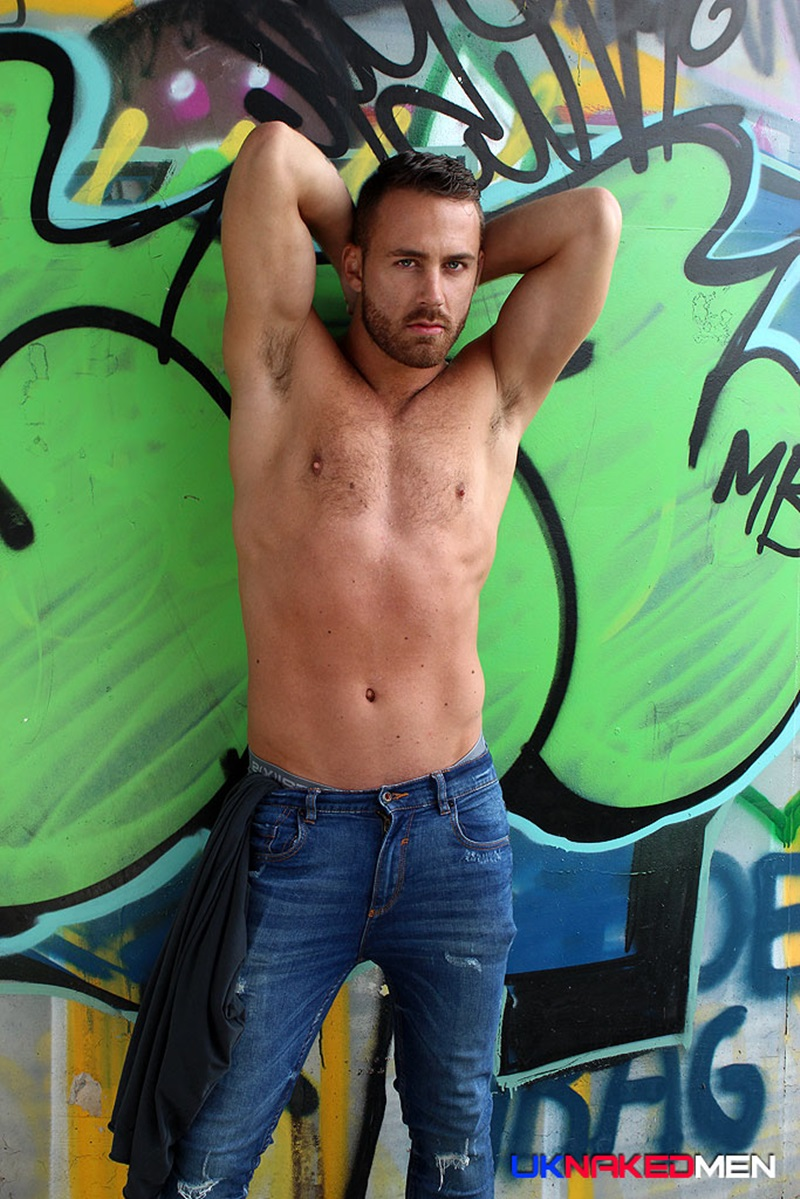 UKNakedMen-sexy-guy-beefy-hairy-stud-big-uncut-cock-cum-load-Logan-Moore-handsome-hunk-naked-hairy-chest-nipples-bollocks-foreskin-04-gay-porn-star-sex-video-gallery-photo