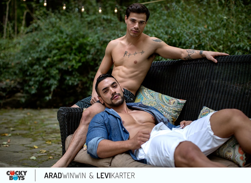 Cockyboys Arad WinWin's huge dick fucks Levi Karter's smooth bubble butt asshole